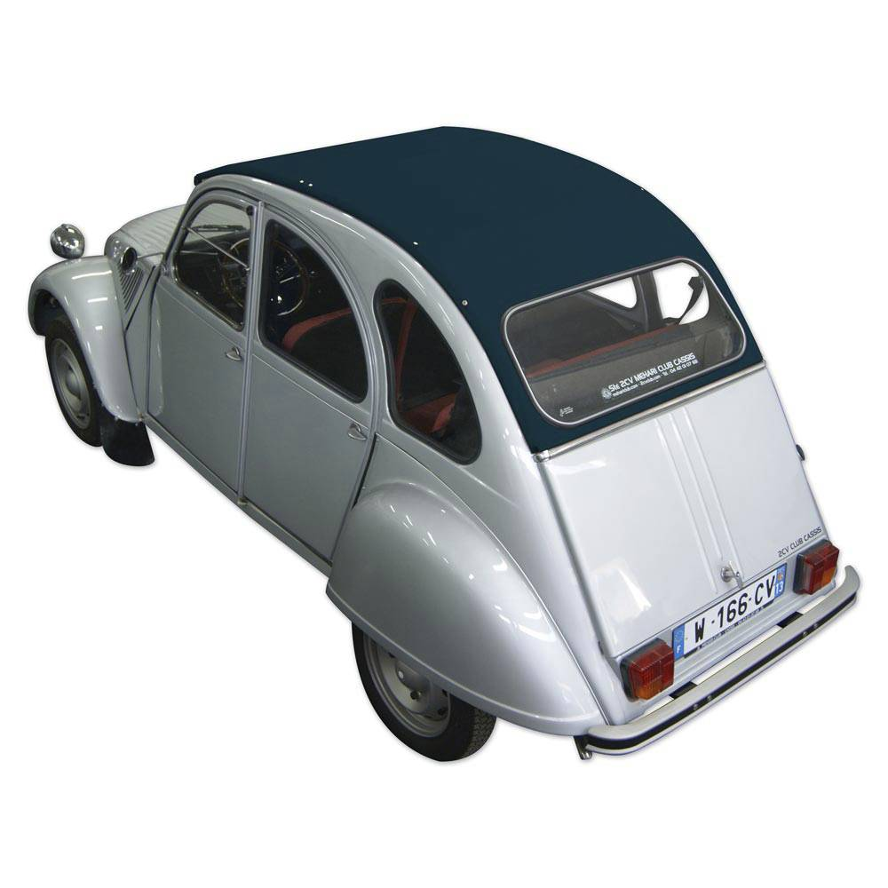 vente capote 2cv neuve ouv int bleu azurite 2cv mehari club cassis. Black Bedroom Furniture Sets. Home Design Ideas