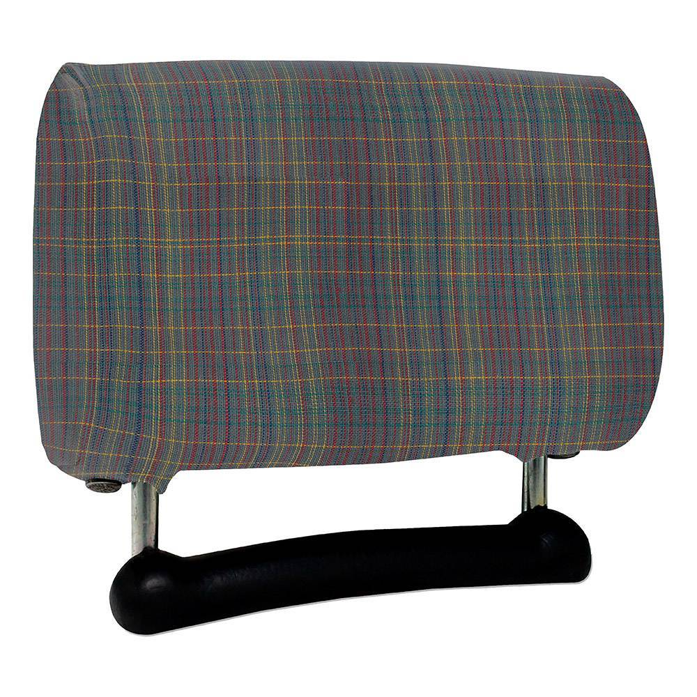 HEADREST COVER 2CV (TARTAN FABRIC)