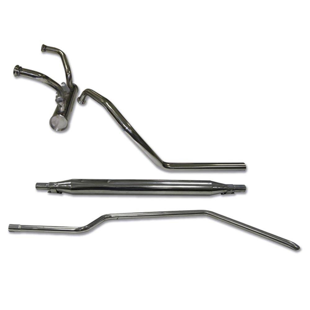 STAINLESS STEEL EXHAUST 602CC