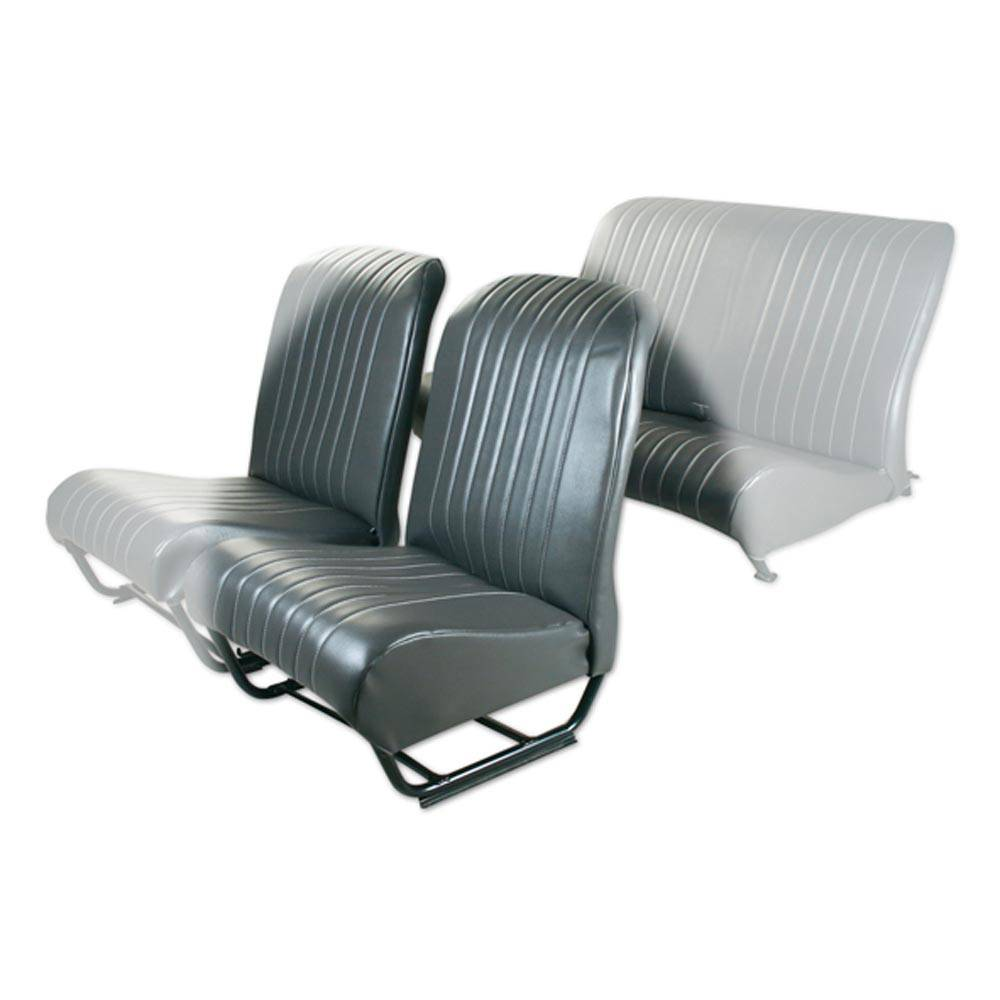 SQUARED INNER CORNER FL SEAT COVER WITH SIDES - ANTHRACITE GREY SKAI