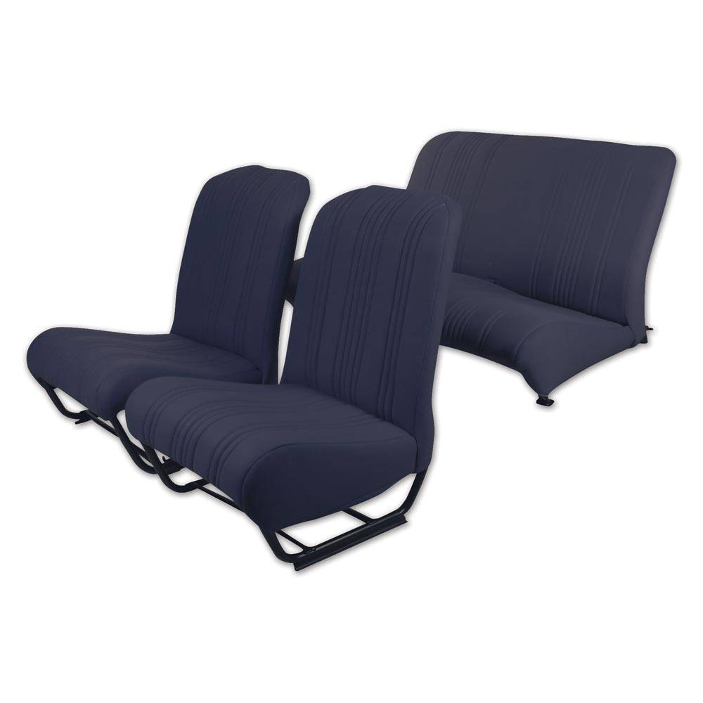 2CV/DYANE UPHOLSTERY SET WITH SIDES – NAVY BLUE