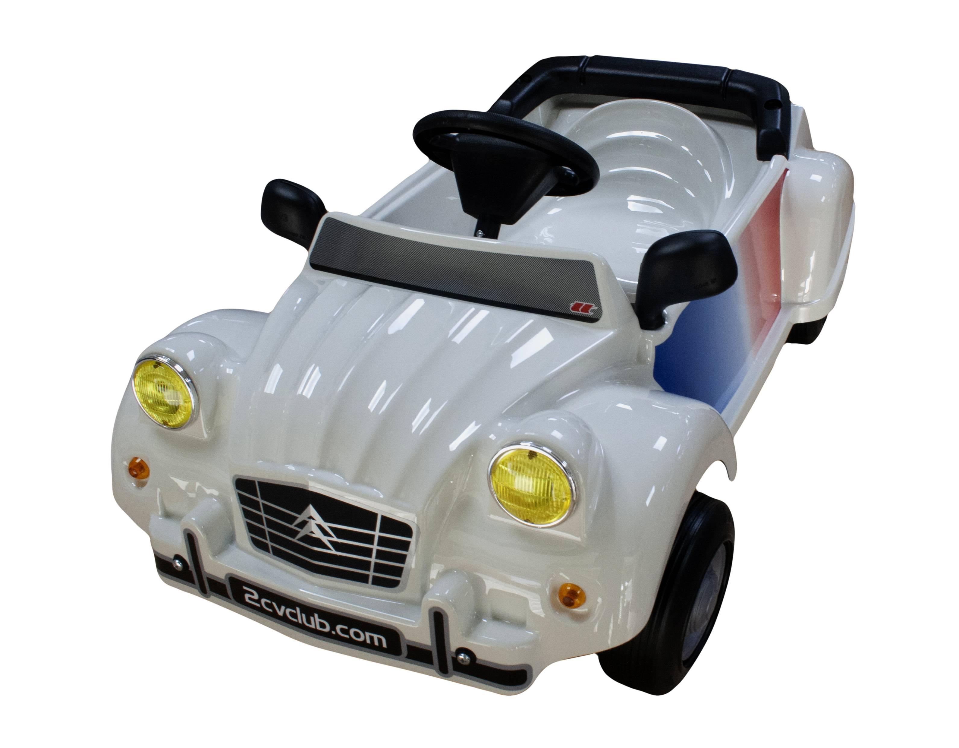 vente voiture a pedales 2cv cocorico